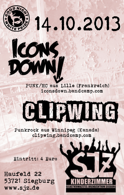 Icons Down Flyer